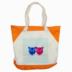 Owligami Accent Tote Bag
