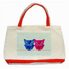 OWLigami Classic Tote Bag (Red)