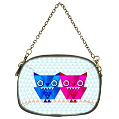 OWLigami Chain Purse (One Side)