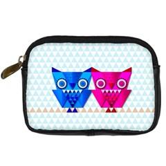OWLigami Digital Camera Leather Case