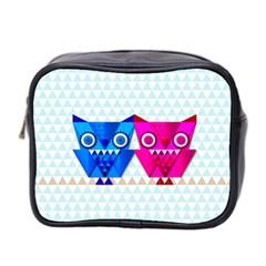 Owligami Mini Toiletries Bag (two Sides)