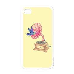 Bird Love Music Apple Iphone 4 Case (white)