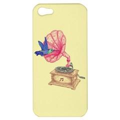 Bird Love Music Apple Iphone 5 Hardshell Case
