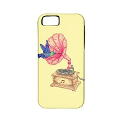 Bird Love Music Apple Iphone 5 Classic Hardshell Case (pc+silicone)