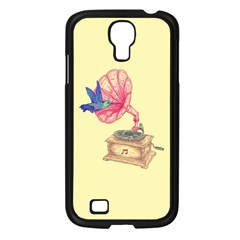 Bird Love Music Samsung Galaxy S4 I9500/ I9505 Case (Black)