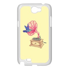 Bird Love Music Samsung Galaxy Note 2 Case (White)