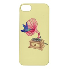Bird Love Music Apple Iphone 5s Hardshell Case