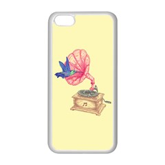 Bird Love Music Apple iPhone 5C Seamless Case (White)