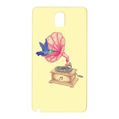 Bird Love Music Samsung Galaxy Note 3 N9005 Hardshell Back Case