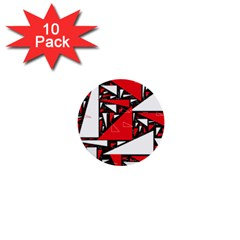 Titillating Triangles 1  Mini Button (10 pack)