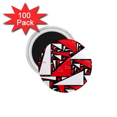 Titillating Triangles 1.75  Button Magnet (100 pack)