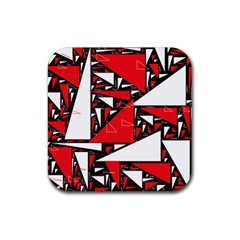 Titillating Triangles Drink Coasters 4 Pack (Square)
