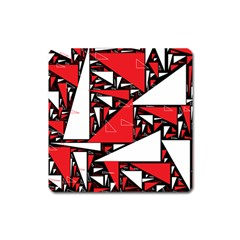 Titillating Triangles Magnet (square)