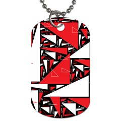 Titillating Triangles Dog Tag (One Sided)