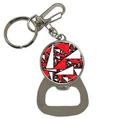 Titillating Triangles Bottle Opener Key Chain
