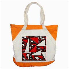 Titillating Triangles Accent Tote Bag