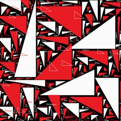 Titillating Triangles Canvas 12  x 12  (Unframed)