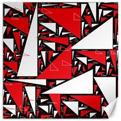 Titillating Triangles Canvas 16  x 16  (Unframed)