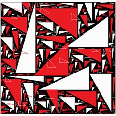 Titillating Triangles Canvas 20  x 20  (Unframed)