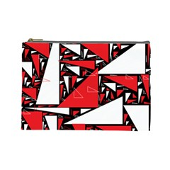 Titillating Triangles Cosmetic Bag (Large)