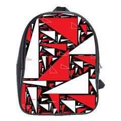 Titillating Triangles School Bag (Large)