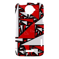 Titillating Triangles HTC One X Hardshell Case