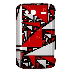 Titillating Triangles HTC Wildfire S A510e Hardshell Case