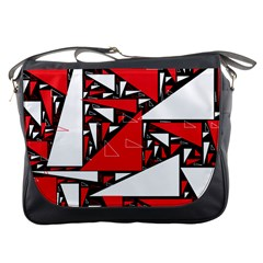 Titillating Triangles Messenger Bag