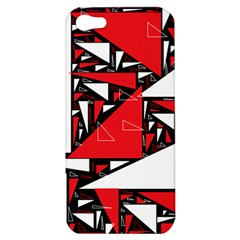 Titillating Triangles Apple Iphone 5 Hardshell Case