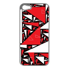 Titillating Triangles Apple iPhone 5 Case (Silver)