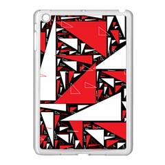 Titillating Triangles Apple iPad Mini Case (White)