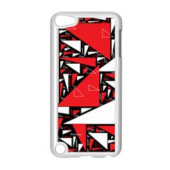 Titillating Triangles Apple Ipod Touch 5 Case (white)
