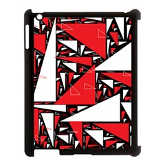 Titillating Triangles Apple iPad 3/4 Case (Black)