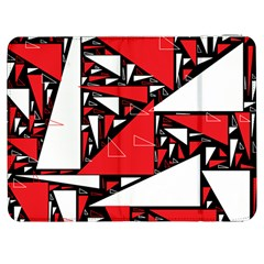 Titillating Triangles Samsung Galaxy Tab 7  P1000 Flip Case