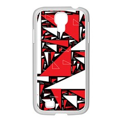 Titillating Triangles Samsung Galaxy S4 I9500/ I9505 Case (white)