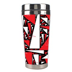 Titillating Triangles Stainless Steel Travel Tumbler