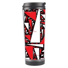 Titillating Triangles Travel Tumbler