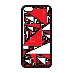 Titillating Triangles Apple iPhone 5C Seamless Case (Black)