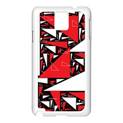 Titillating Triangles Samsung Galaxy Note 3 N9005 Case (white)