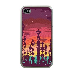 Meet Me After Sunset Apple Iphone 4 Case (clear)