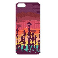 Meet Me After Sunset Apple Iphone 5 Seamless Case (white)