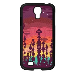 Meet me after sunset Samsung Galaxy S4 I9500/ I9505 Case (Black)