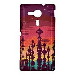 Meet me after sunset Sony Xperia SP M35H Hardshell Case