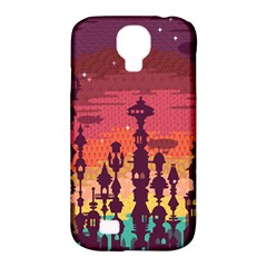 Meet me after sunset Samsung Galaxy S4 Classic Hardshell Case (PC+Silicone)