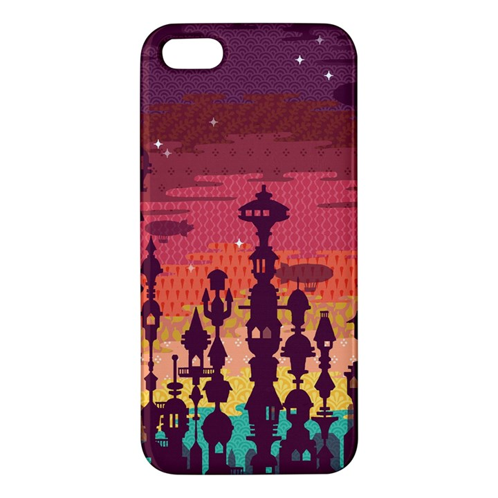 Meet me after sunset iPhone 5S Premium Hardshell Case