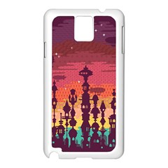 Meet Me After Sunset Samsung Galaxy Note 3 N9005 Case (white)