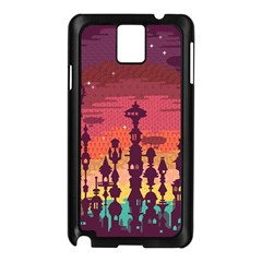 Meet me after sunset Samsung Galaxy Note 3 N9005 Case (Black)