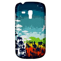 Rainforest City Samsung Galaxy S3 Mini I8190 Hardshell Case