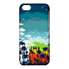 Rainforest City Apple iPhone 5C Hardshell Case