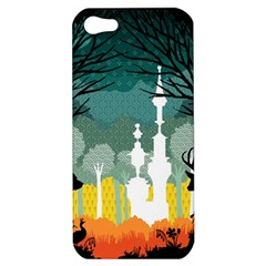 A Discovery in the Forest Apple iPhone 5 Hardshell Case